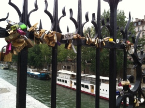 Love locked.